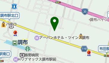 日産レンタカー e-タイムパーキング布田の地図画像