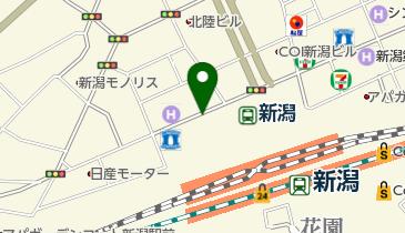 オリックスレンタカー 新潟駅万代口店の地図画像
