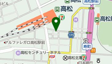 オリックスレンタカー 高松駅前店の地図画像
