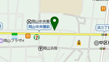 もち吉 岡山浜店の地図画像