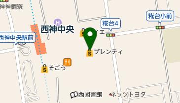 ABC-MART 西神プレンティ店の地図画像