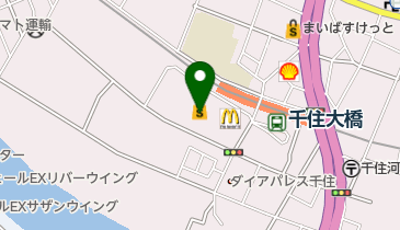 ABC-MART ポンテポルタ千住店の地図画像