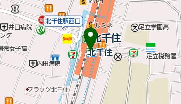 ABC-MART プレミアステージルミネ北千住店の地図画像