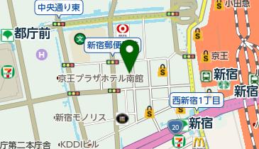 ABC-MART 新宿西口店の地図画像
