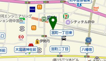 ABC-MART 府中くるる店の地図画像