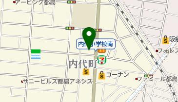 ドラッグセガミ 内代店の地図画像