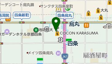 オーバカナル・京都店の地図画像