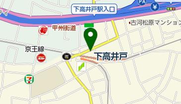カフェ コロラド 下高井戸駅前店の地図画像