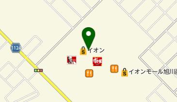 風月 イオンモール旭川西店の地図画像