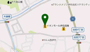 QBハウス イオンモール伊丹昆陽店の地図画像
