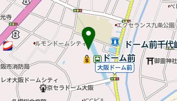キュービーハウス イオンモール大阪ドームシティ店の地図画像
