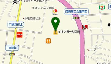 QBハウス イオンモール岡崎店の地図画像