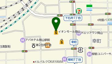 H&M イオンモール岡山店の地図画像