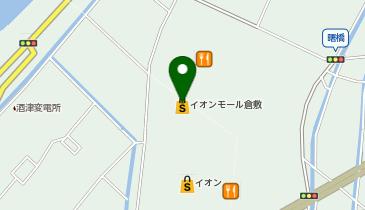 だがし夢や イオンモール倉敷店の地図画像