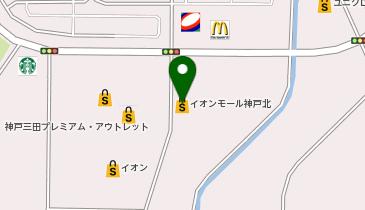 家族亭 イオンモール神戸北店の地図画像