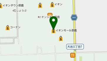 QBハウス イオン 鈴鹿店の地図画像