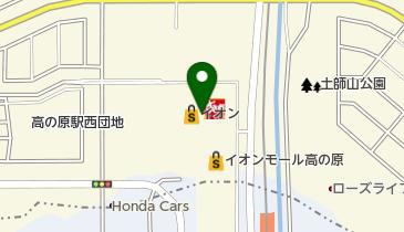 QBハウス イオンモール高の原店の地図画像