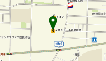 LEPSIM(レプシィム) イオンモール鶴見緑地店の地図画像