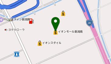ビーズ クオーレ イオンモール新潟南店の地図画像