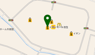 QBハウス イオンモール羽生店の地図画像