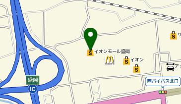 スポーツオーソリティ イオンモール盛岡店の地図画像