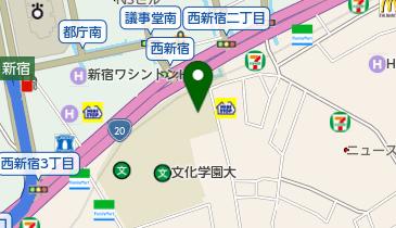 丸亀製麺新宿文化クイントビルの地図画像
