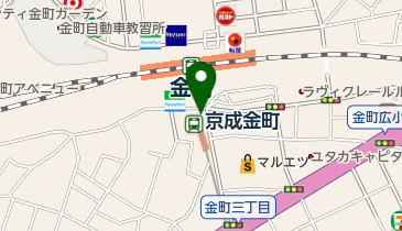 PRONTO 京成金町駅店の地図画像