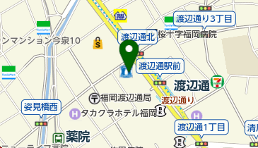 PRONTO 福岡電気ビル北館店の地図画像
