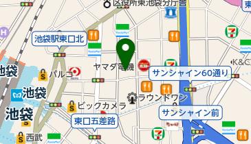 Di PUNTO 池袋東口店の地図画像