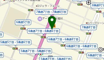 調剤薬局ツルハドラッグ 旭川6条店の地図画像