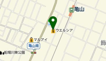 ウエルシア姫路亀山店の地図画像