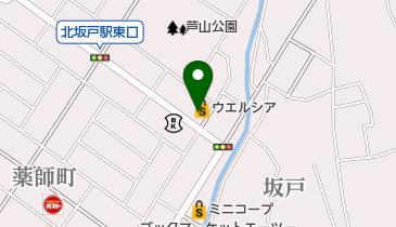 ウエルシア北坂戸店の地図画像