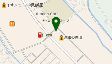 スシロー 浦和美園店の地図画像