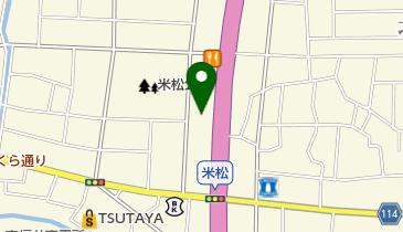 スシロー 福井米松店の地図画像