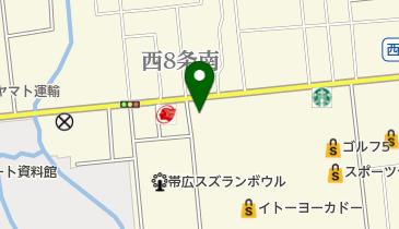 スシロー 帯広店の地図画像