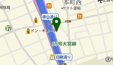 スシロー さいたま中央店の地図画像