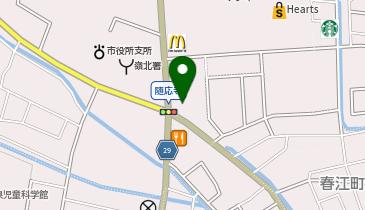 スシロー 春江店の地図画像