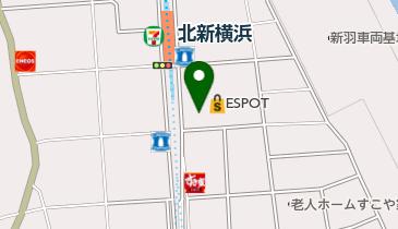 ザ・ダイソー エスポット新横浜店の地図画像