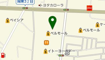ザ・ダイソー ベルモール宇都宮店の地図画像