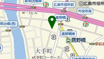 ザ・ダイソー 鷹野橋店の地図画像