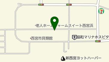 【無人ATM】りそな銀行 西宮マリナパークシティ出張所 無人ATMの地図画像