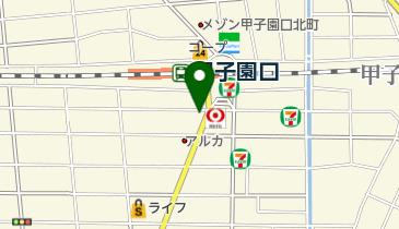 【無人ATM】りそな銀行 JR甲子園口駅前出張所 無人ATMの地図画像