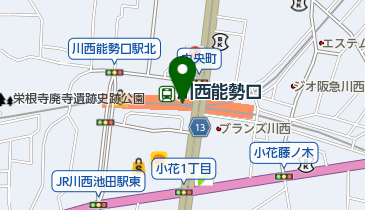 りそな銀行 川西支店の地図画像