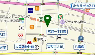 ライトオン 府中くるる店の地図画像