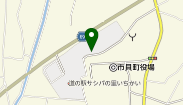 道の駅 サシバの里いちかいの地図画像