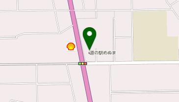 道の駅 めぬまの地図画像