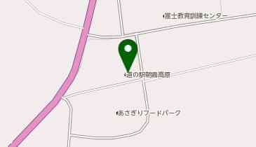 道の駅 朝霧高原の地図画像