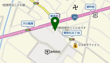 道の駅 田原めっくんはうすの地図画像
