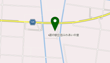 道の駅 立田ふれあいの里の地図画像