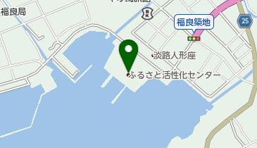 道の駅 福良の地図画像